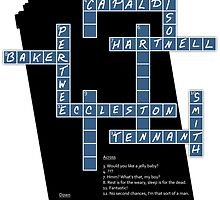 Doctor Who Cross Word Puzzle by drwhobubble
