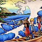 Sailing Through Hokusai by Steven Novak