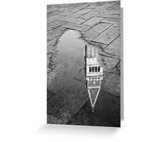 Reflected Bell Tower (2010) Greeting Card