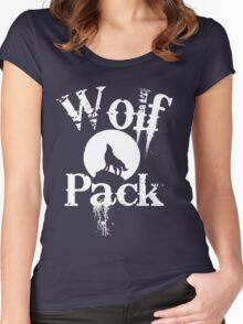 Wolf Pack  Women's Fitted Scoop T-Shirt