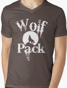 Wolf Pack  Mens V-Neck T-Shirt