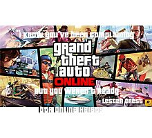 GTA Online heists Photographic Print