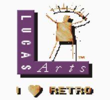 I love LucasArts Baby Tee