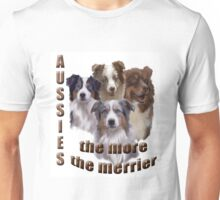 Austrailian Shepherds  Unisex T-Shirt