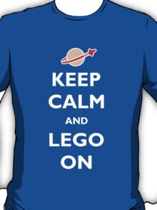 Keep Calm and Lego On T-Shirt