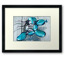 Riding Jeff Koons Framed Print