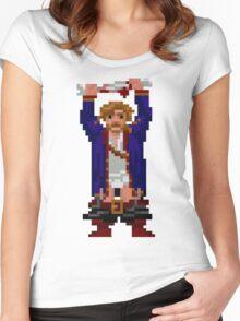 Guybrush - LaGrande's bone! Women's Fitted Scoop T-Shirt