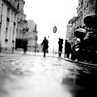 shadows in montmartre, paris by Stephane-Franck Berthelot