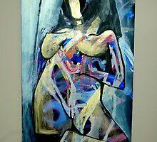 Jamille - acrylic - 42 by 13 - 11.14.06 by Micheal Bilyeu