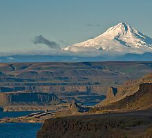 Mt Hood from Mary Hill, WA. USA by Bryan Peterson