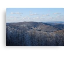 A Valley View Canvas Print