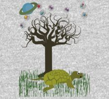 The Turtle and the Tree by SaMack