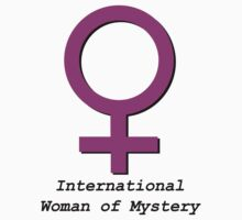 International woman of mystery by benjy