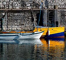 Carnlough Harbour by Stephen Maxwell