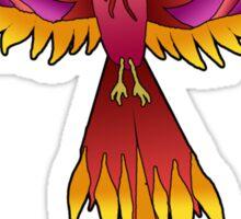 Red Phoenix Sticker
