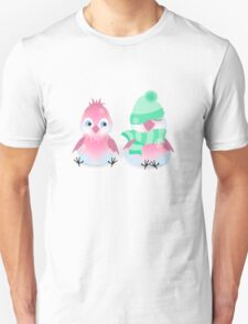 Two Birds on the Snow T-Shirt