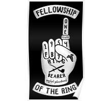 Ring Bearer Hand Poster