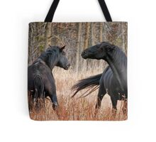 Looking for Trouble Tote Bag
