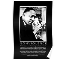 Martin Luther King, Jr. - Nonviolence Poster