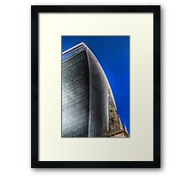 Ancient and Modern London Framed Print