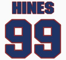 National football player Jimmy Hines jersey 99 by imsport