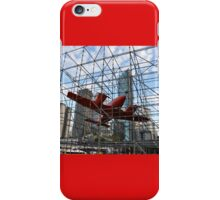 Art & About, Sydney, Australia 2012 - Trapped Aircraft iPhone Case/Skin