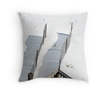 Sand Shadows Throw Pillow