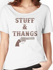 Stuff & Thangs Women's Relaxed Fit T-Shirt