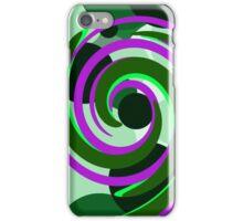 Circle Swirl iPhone Case/Skin