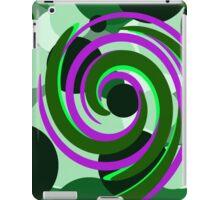 Circle Swirl iPad Case/Skin