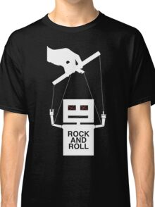 Rock And Roll (white) Classic T-Shirt