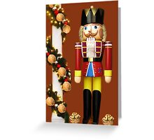 ˛★*  GET CRACKING WITH CHRISTMAS NUTCRACKER ˛★* Greeting Card