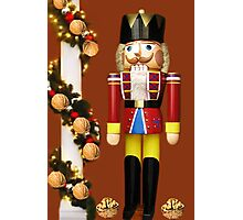 ˛★*  GET CRACKING WITH CHRISTMAS NUTCRACKER ˛★* Photographic Print