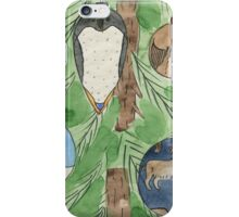Animal Christmas Tree Baubles iPhone Case/Skin