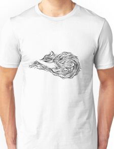Abstract bird Unisex T-Shirt