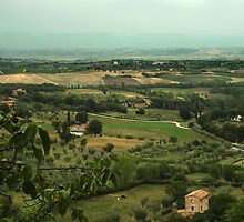 Over Tuscany by funkymarmalade