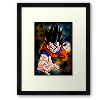 Goku - Dragon Ball Z Framed Print