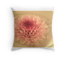 Chrysanthemum Tea I Throw Pillow