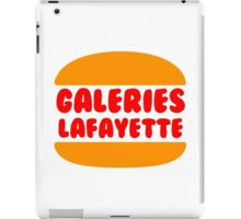 Galeries Lafayette Singapore iPad Case/Skin