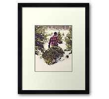 Christmas Tree Farm Framed Print