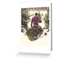 Christmas Tree Farm Greeting Card