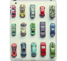Toy Car Collection iPad Case/Skin
