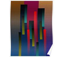 Vertical Rectangular Blends Poster