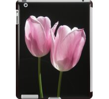 Two Pink Tulips iPad Case/Skin