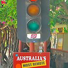 Outback Traffic Lights  by Penny Smith