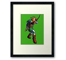 Zelda Arrow ! Framed Print