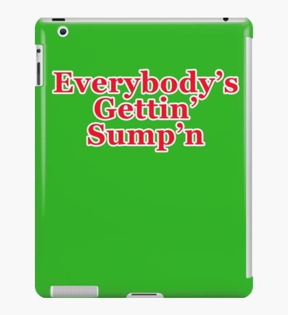 Sump'n Claus iPad Case/Skin