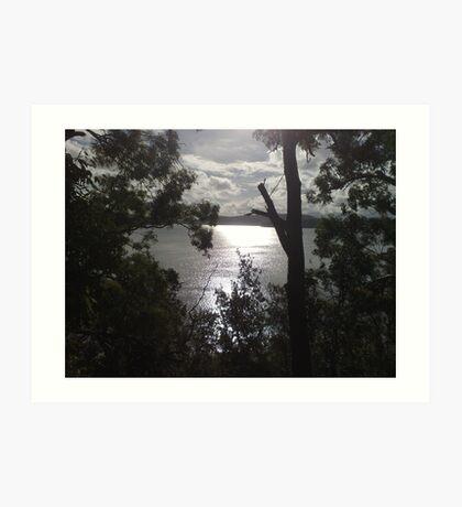 Lake of Sacred-ness Art Print