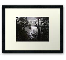 Lake of Sacred-ness Framed Print