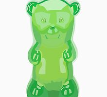 Gummy bear green grape flavor by uzualsunday